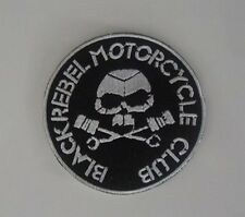 Patch / Ecusson BLACK REBEL  mc cafe racer biker