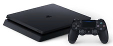 Sony PlayStation 4 (PS4) Slim 500 GB Jet Black Console System (with Controller)