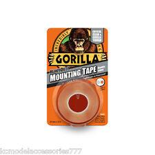 Gorilla Glue Heavy Duty Mounting Tape Double Sided Clear Weatherproof.