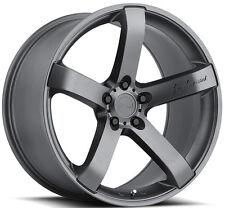 """19"""" MRR VP5 Wheels For Lexus IS300 IS250 IS350 19x8.5 Inch Gunmetal Rims Set"""