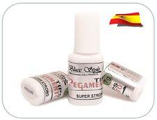 PEGAMENTO PARA TIPS  CON PINCEL SUPER RAPIDO- 7ml- uñas de gel, acril, manicura
