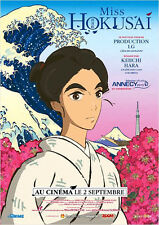 Affiche 120x160cm MISS HOKUSAI 2015 Keiichi Hara - film d'animation japonais NEU