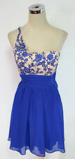 MASQUERADE Electric Blue Dance Party Dress 9 - $90 NWT