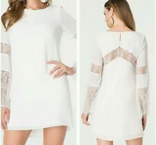 NWT bebe Lace Shift DRESS SIZE S Gorgeous  Lace  dress! So Sexy!MSRp $140.00!