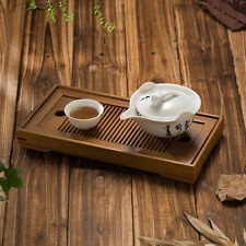 Portable Small Tasteful * Bamboo Gongfu Tea Table Serving Tray 27*14cm Home RT