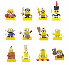 MEGA BLOKS Despicable Me Minions Series 3 FACTORY SEALED COMPLETE SET of 12