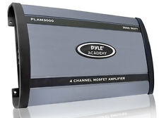 Pyle PLAM3000 3000-watts 4 Channel Bridgeable  Car Amplifier