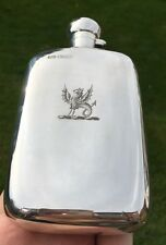 1893 Thomas Hayes Solid Silver Hip Flask (R1860)