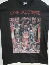 NEW - CANNIBAL CORPSE LIVE CANNIBALISM BAND / CONCERT MUSIC T-SHIRT EXTRA LARGE