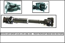Toyota Hilux Surf LN130 2.4D Front Propshaft - New (1988-1993) **SPECIAL**