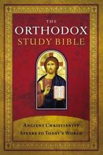 The Orthodox Study Bible, Hardcover: Ancient Christianity Speaks to Today's Worl