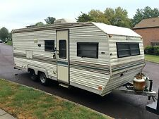 Nice 24ft LAYTON Camper W/bunk beds NO RESERVE Very clean