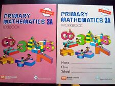 Singapore Primary Math 3A textbook + 3A workbook US Edition-FREE Expedited Ship