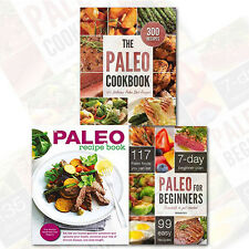 Paleo Diet Collection 3 Books Set (The Paleo Diet for Brits, The Paleo CookBook)