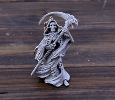 Ghost Grim Reaper skulls key car key chain  key ring pendant