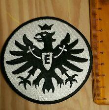 Eintracht Frankfurt Original Aufnäher mit 7,5 cm Durchmesser in Schwarz