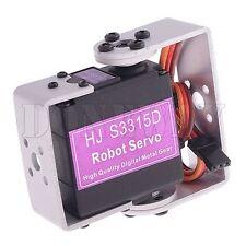 HJ S3315D 15KG Torque 180° Brushless Motor Servo Digital Metal Gear Robot Servos