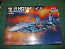 Academy 1/48 Sukhoi Su-27 Flanker B Factory Sealed Kit No. 2131