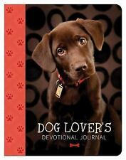 Dog Lover's Devotional Journal by Barbour Publishing Staff (2015, Hardcover)