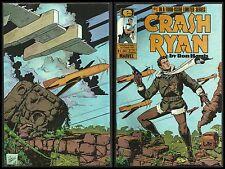 CRASH RYAN #1,2,3 Lot of 3 (EPIC/ MARVEL 1984) CGC THEM!
