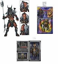 "Predators Clan Leader Predator 7"" Kenner Deluxe Action Figure NECA IN STOCK"