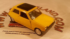 Norev Jet Car 1972 Renault 5 R5 n°711 1/43 made in france version jaune