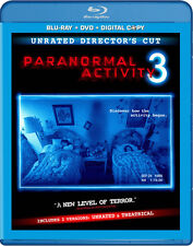 Paranormal Activity 3 [Rated/Unrated] [2 Discs] [In (2012, REGION A Blu-ray New)