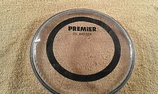 "Premier ""DS Batter"" 6"" twin ply clear drum head. New."