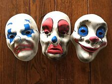 Joker Masks, The Dark Knight - Chuckles, Dopey and Grumpy for Halloween Cosplay