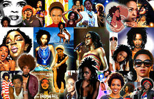 Lauryn Hill Collage Poster