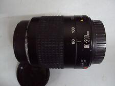 Objetivo zoom Canon EF 80-200mm 4.5-5.6 II en buen estado.