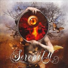 Words Untold & Dreams Unlived by Serenity (Austria) (CD, Apr-2007, Napalm...