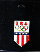 RARE PINS PIN'S .. OLYMPIQUE OLYMPIC ATLANTA 1996 USA TEAM BLASON ARM ~16