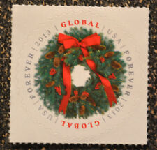 2013USA #4814 Global Forever Rate - Evergreen Wreath  Single -  Mint   christmas