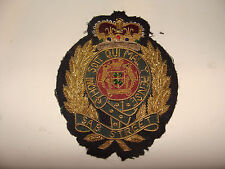 British Royal Coat of Arms style Sew-On Patch Crest  Honi Soit Qui Mal y Pense