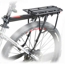 Back Rear Bag Pannier Rack Alloy Bike Bicycle Seat Post Frame Carrier Holder New
