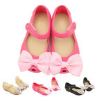 Summer Cute Ribbon Bow Princess Minnie sandals Jelly Shoes Kid Girl Gift Toddler