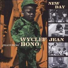 BONO & WYCLEF JEAN New Day CD NEW 4 TRAX  U2