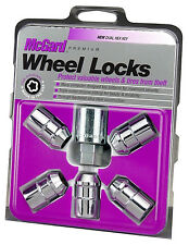 "McGard 24538 Exposed Cone Wheel Lock Lug Nuts, Chrome, 5 Locks and 1 Key 1/2""-20"