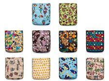 CLEARANCE! 100 KaWaii Premium One Size Bamboo Cloth Diapers+200 Bamboo Inserts