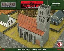 Flames of War: Caen Church Terrain (BB208)  NEW