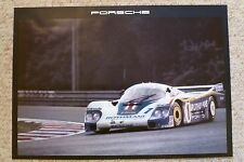 1983 Porsche Rothmans 956 Showroom Advertising Sales Poster RARE!! Awesome L@@K