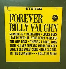 "VINTAGE FOREVER BILLY VAUGHN RECORD LP 12"" 33 RPM- DOT RECORDS"