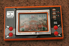 NINTENDO GAME & WATCH FIRE ATTACK ID-29 1982 WORKING CONDITION