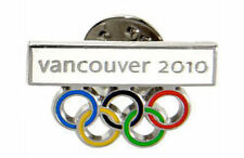 Official Vancouver 2010 Winter Olympic Game Canada 5 Rings Collectible Pin