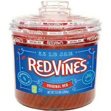 Red Vines Original Red Licorice 5.5lbs BRAND NEW! SEALED!