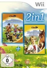 Nintendo Wii +Wii U Meine Tierpension + Meine Tiersprechstunde Deutsch Top Zusta