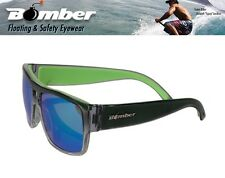 Bomber Floating IRIE Sunglasses Clear Mirror Green Surfing Beach Shades Wat