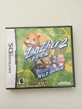 ZhuZhu Pets 2: Featuring the Wild Bunch  (Nintendo DS, 2010)
