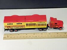 LOOSE Majorette Super Movers 600 611 Semi Trailer Truck Magic Circus 1/87 HO